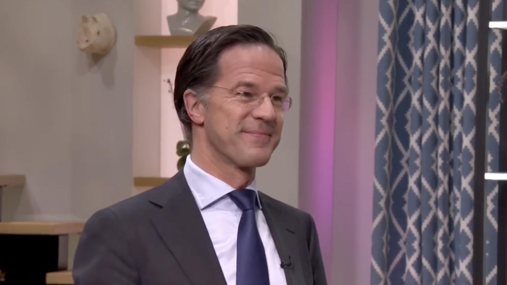 Primeur bij Koffietijd: Mark Rutte doet eerste coronatest