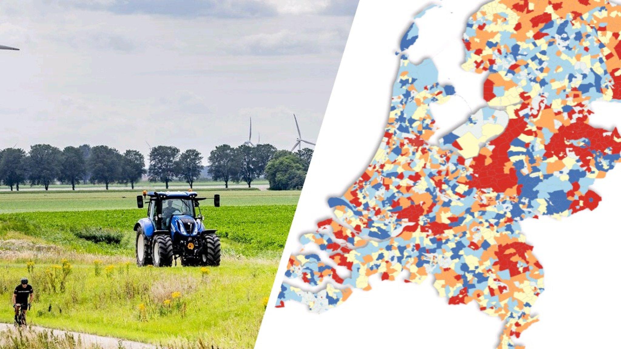 Stad en platteland stemmen steeds verschillender: 'Risico op onbestuurbaar land' - RTL Nieuws