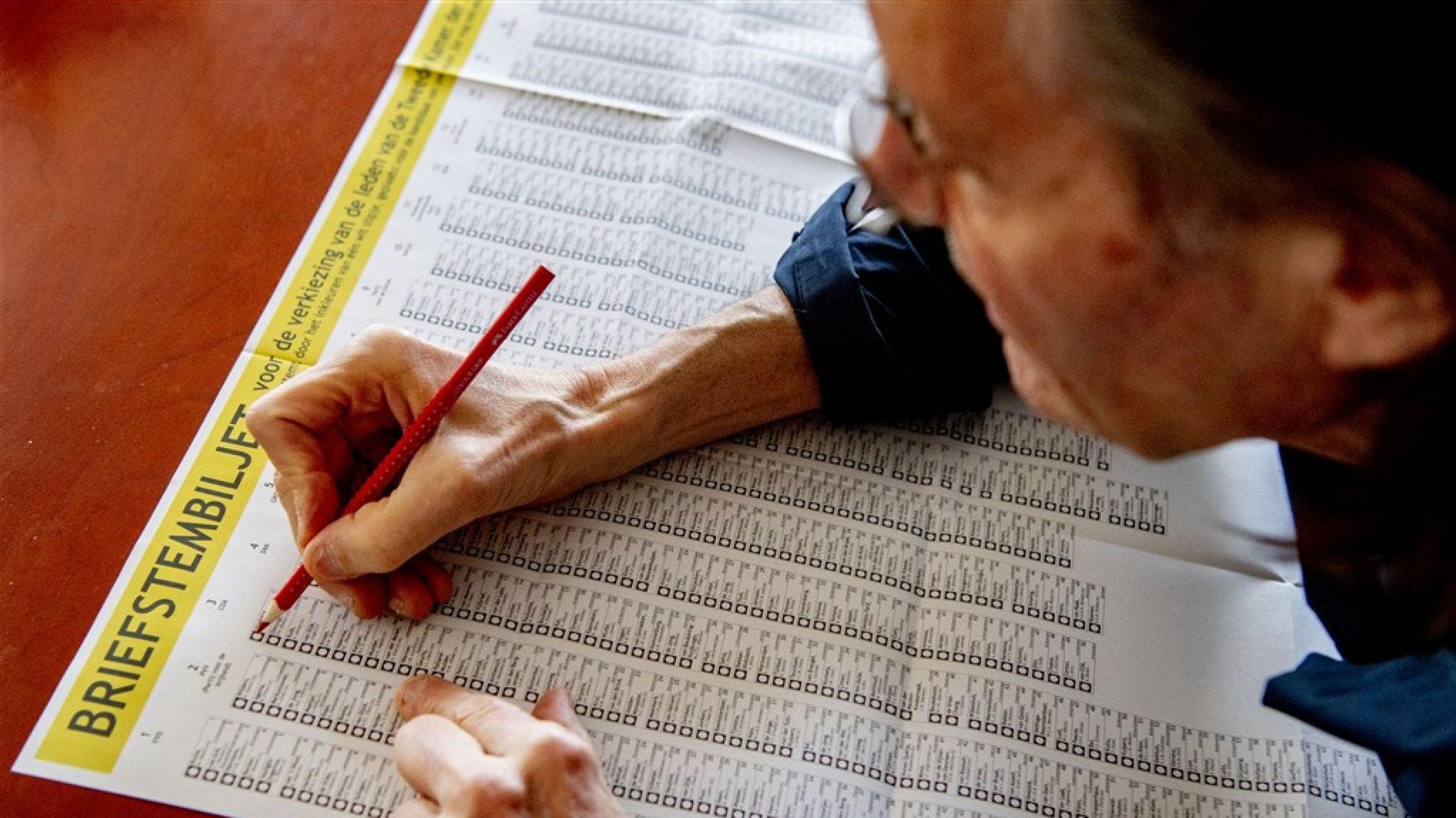 Verkeerde envelop Tot nu toe 10.000 briefstemmen ongeldig verklaard - RTL Nieuws