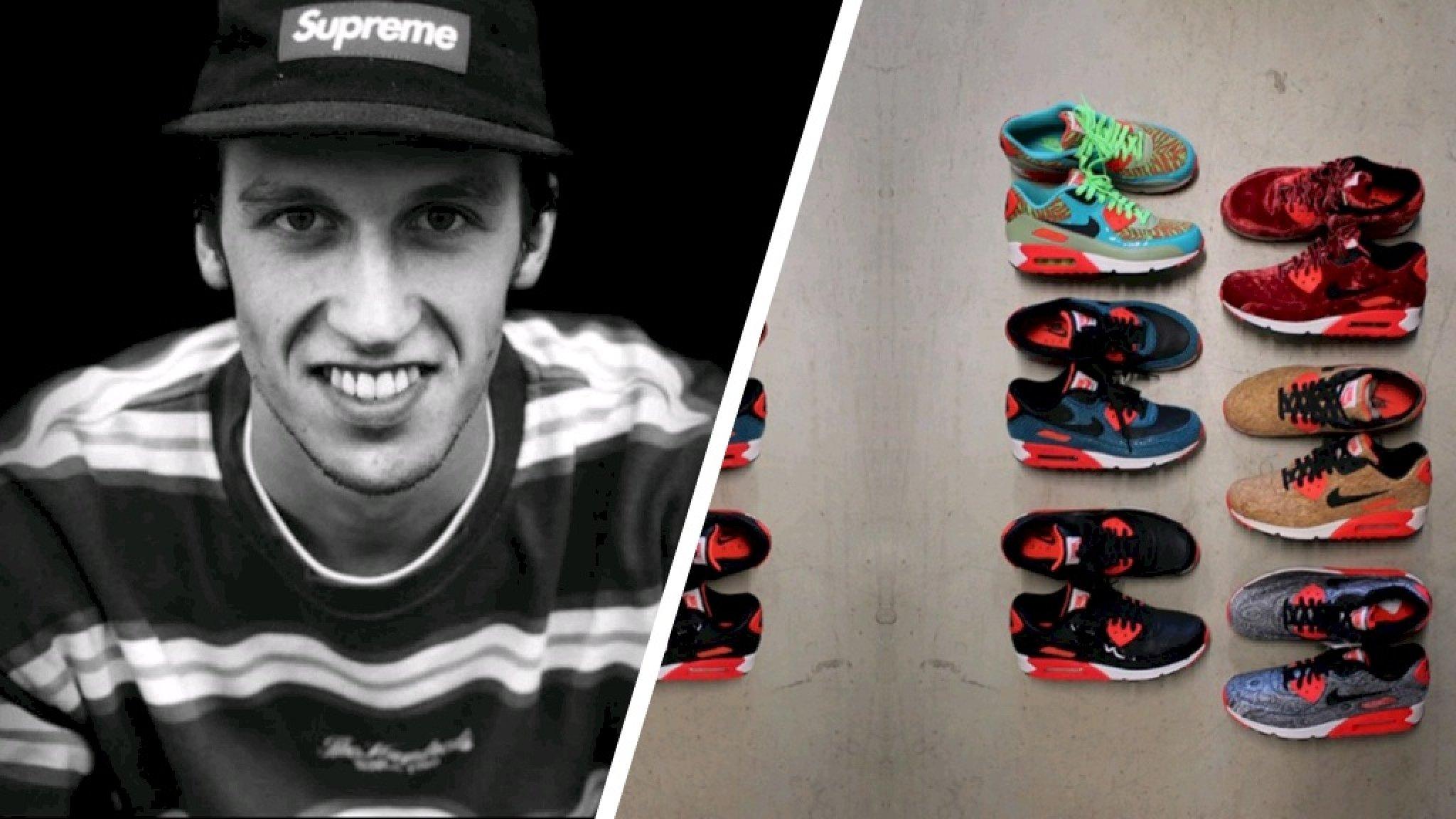 Tijn beroofd van enorme sneakercollectie: 'Sommige zijn uniek op de wereld' - RTL Nieuws