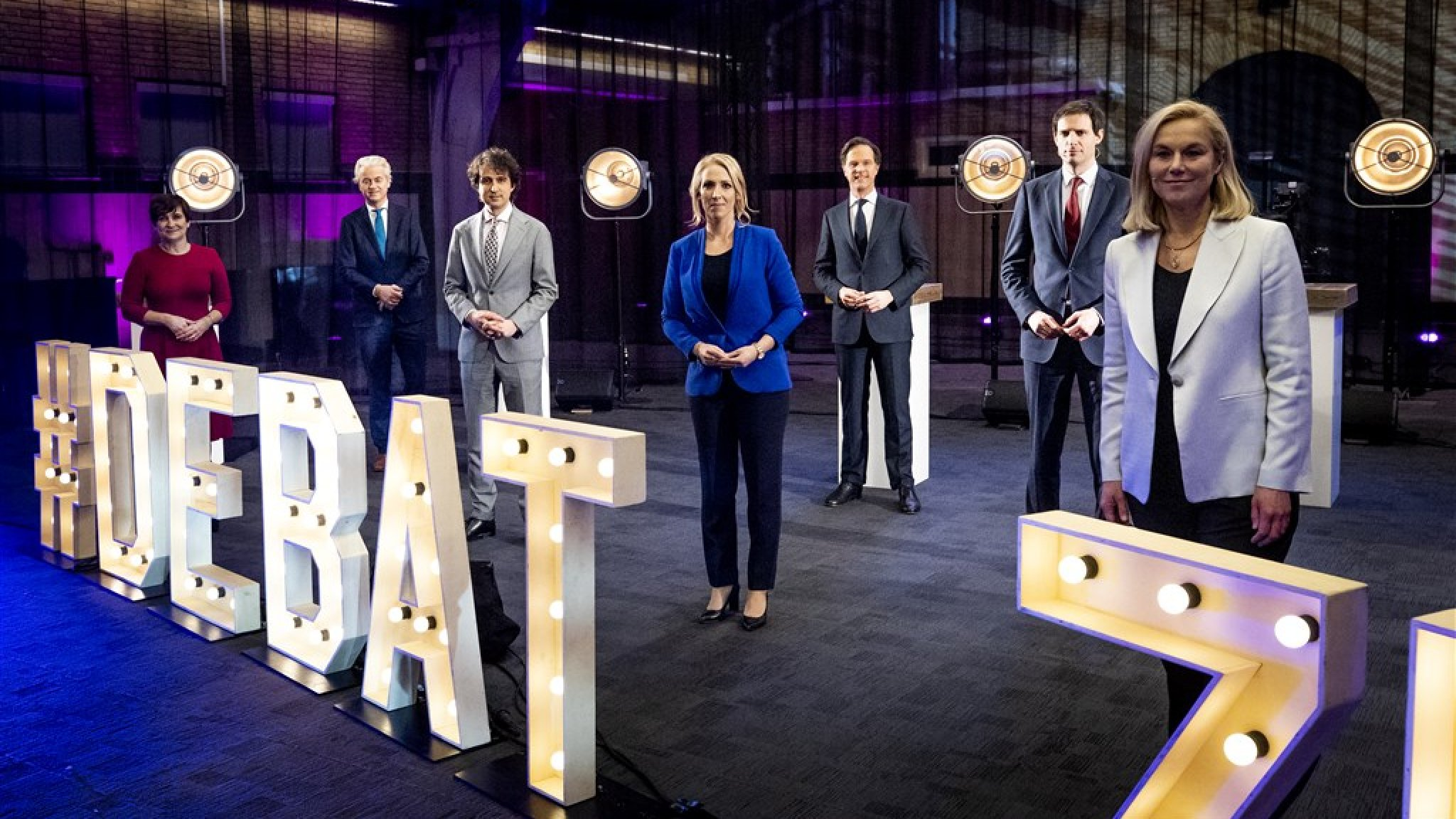 Handschoenen uit in Brabant: scherpe debatten onder lijsttrekkers - RTL Nieuws