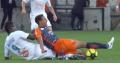 Balotelli neemt met rode kaart afscheid bij Marseille