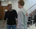 Nerveuze Sepp van den Berg ontmoet coach Jürgen Klopp
