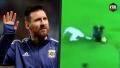 Messi draait tegenstanders zelfs liggend op de grond helemaal dol