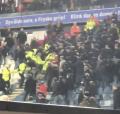 Grimmige sfeer in stadion na winst Feyenoord