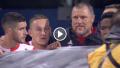 Spelers en staf Feyenoord houden het niet droog
