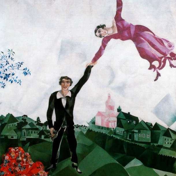 'The Promenade' van Marc Chagall.