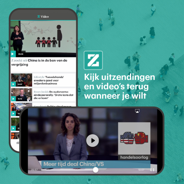 Download de nieuwe app van RTL Z | RTLZ