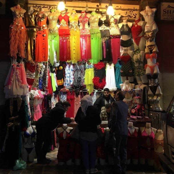 Zelfs de lingeriewinkels in Damascus draaiden die dag overuren.