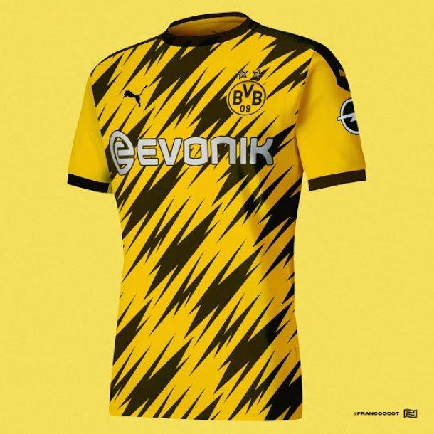 Borussia Dortmund Gaat In Zeer Opvallend Tenue Spelen Rtl Nieuws