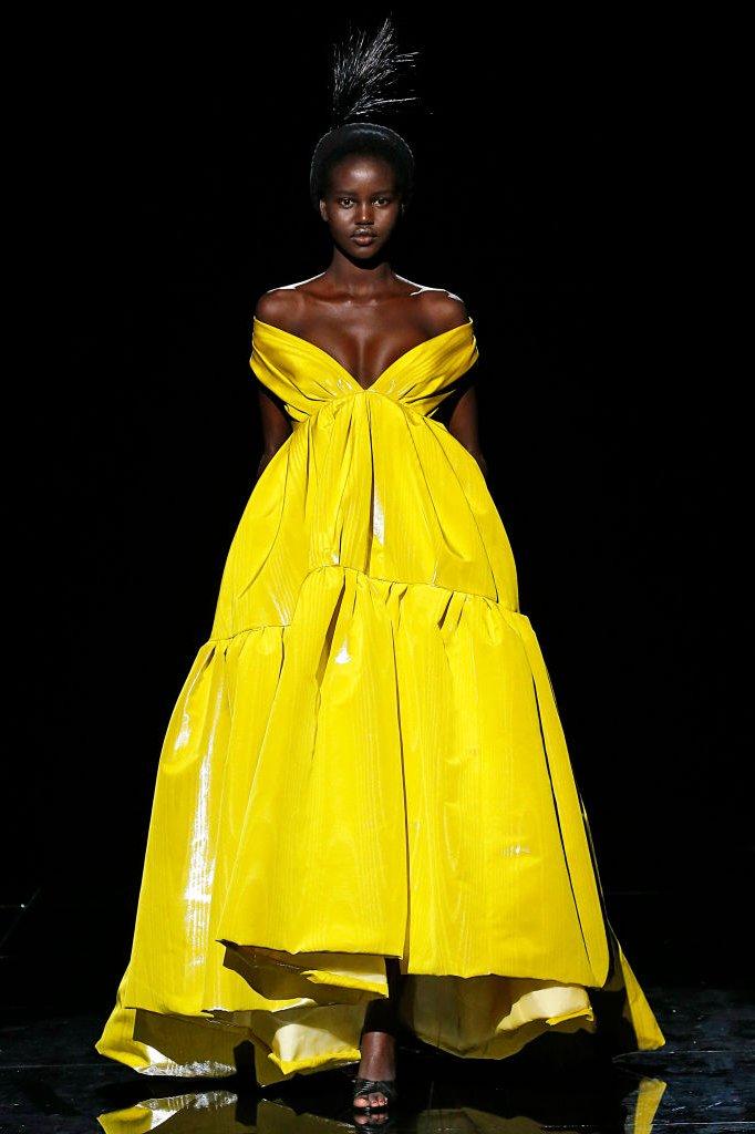 Een creatie van Marc Jacobs op New York Fashion Week