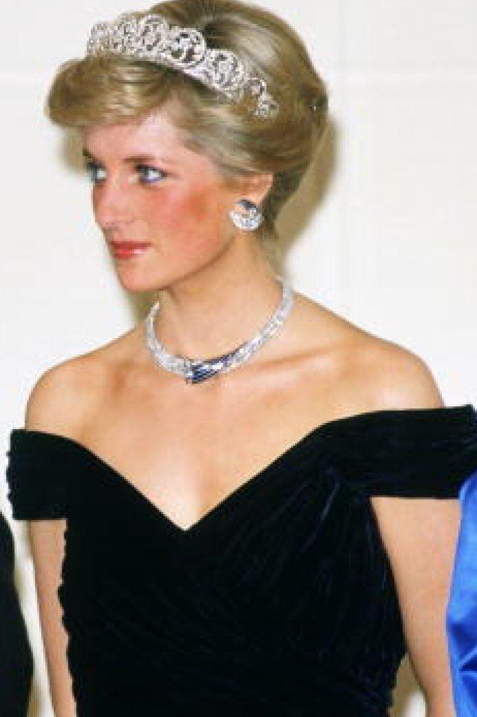 Prinses Diana in haar iconische jurk