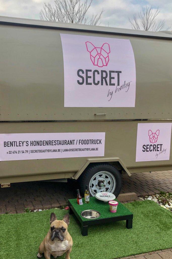 Bentley en zijn truck.
