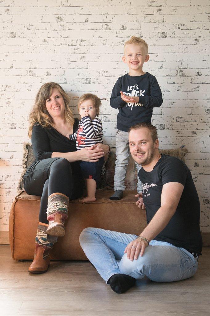 Mandy en haar gezin