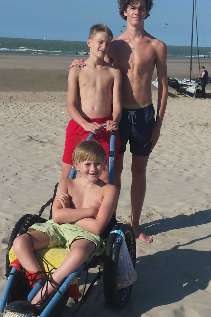 In 2015 met zijn broers Hermes en Jef.