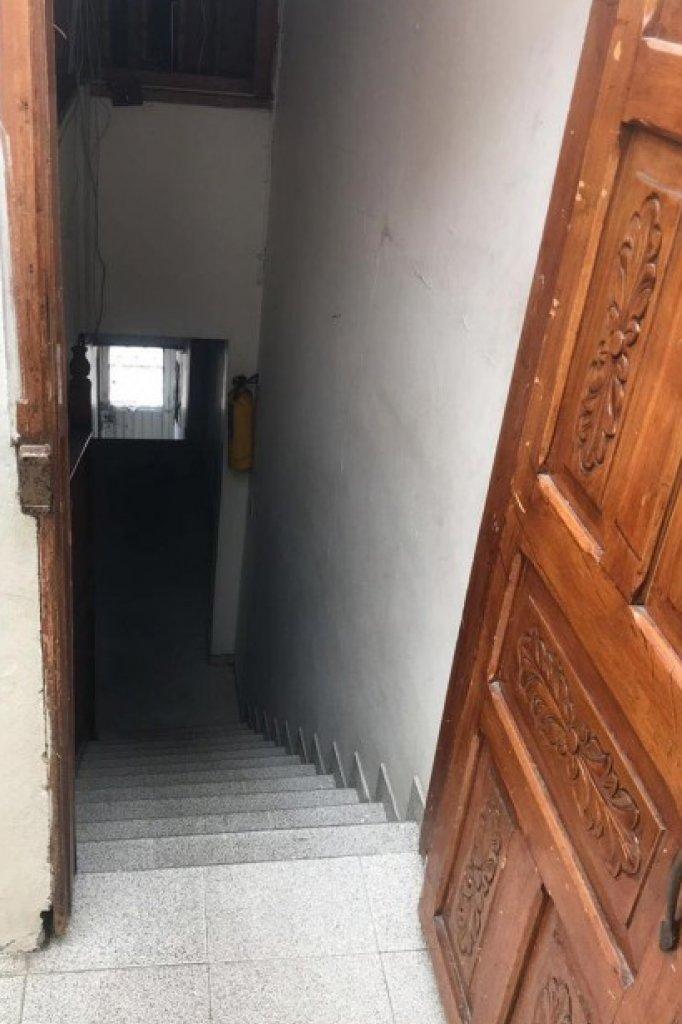 De trap waar het jongetje anders vanaf zou zijn gevallen