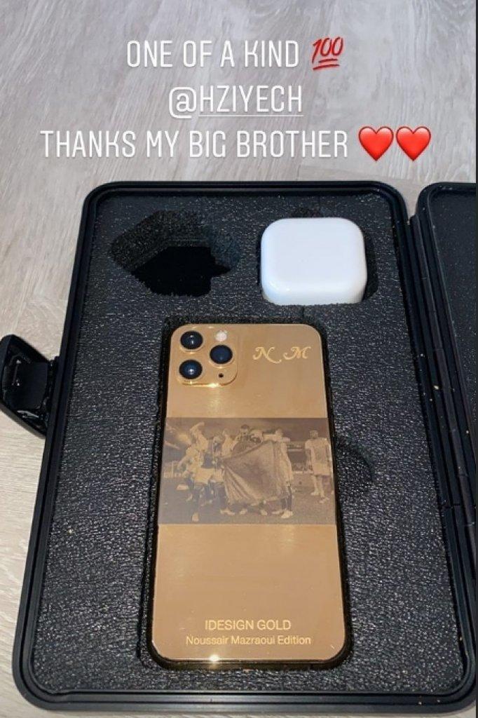 Instagram Story van Mazraoui