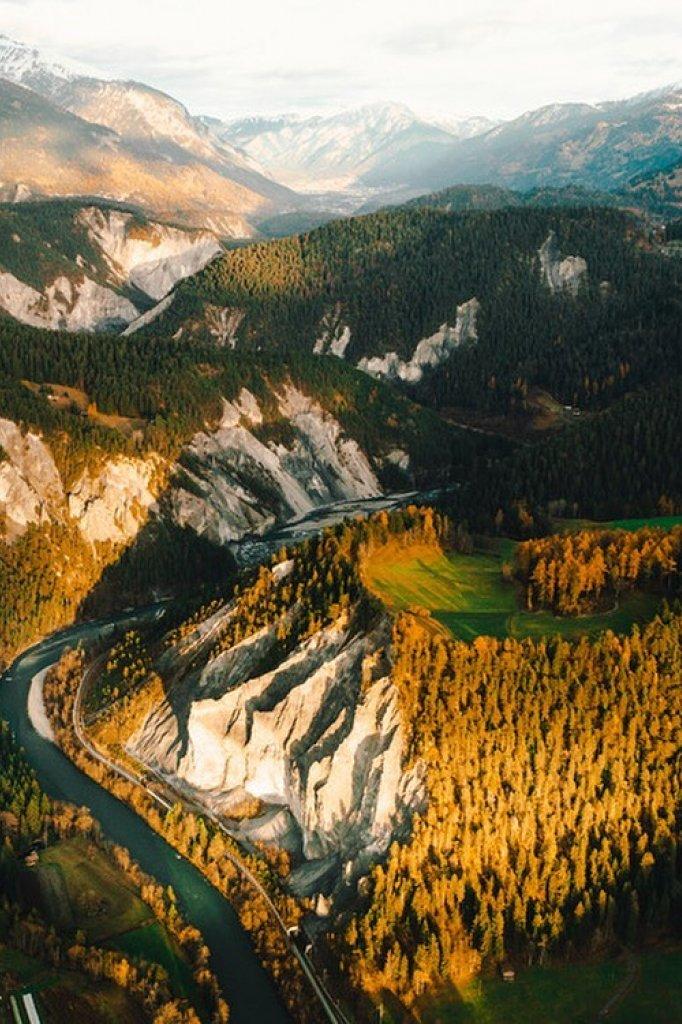 Bergen in Zwitserland gefotografeerd door Sjoerd Wesselink