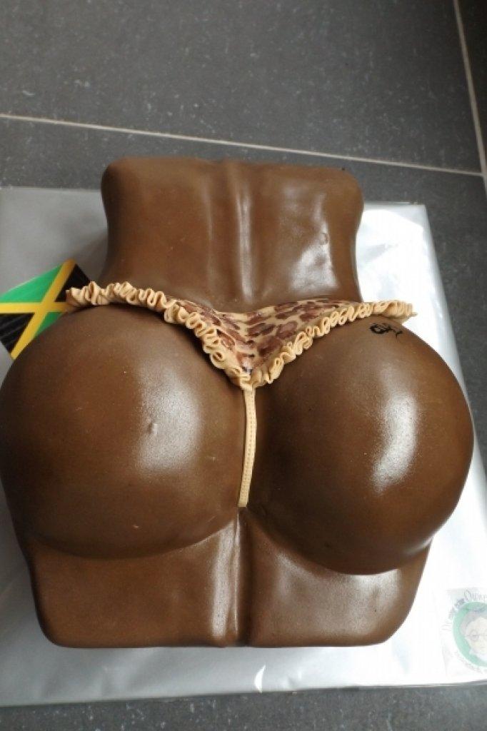 Een van de taarten