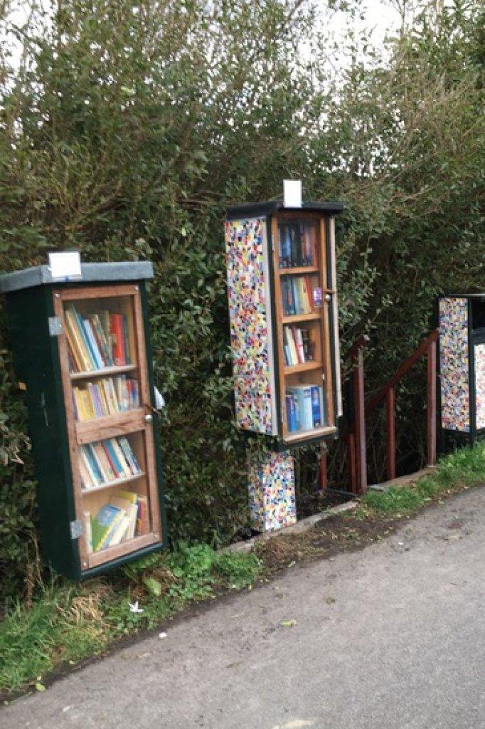 De boekenkasten van Sjoerd