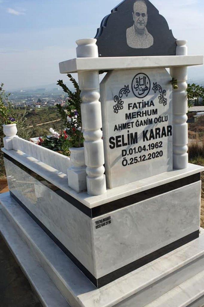 Het graf van Selim, op een berg in Turkije