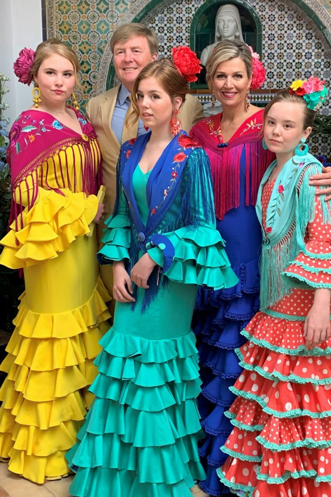 De Oranjes in Sevilla