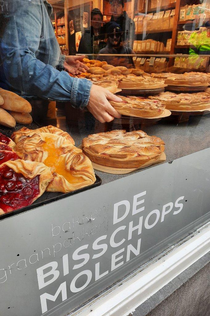 Limburgse vlaai in Maastricht.