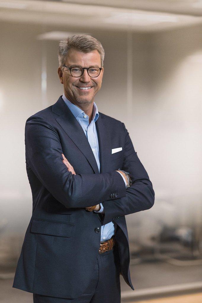 Anders Jensen, de topman van het Scandinavische NENT.