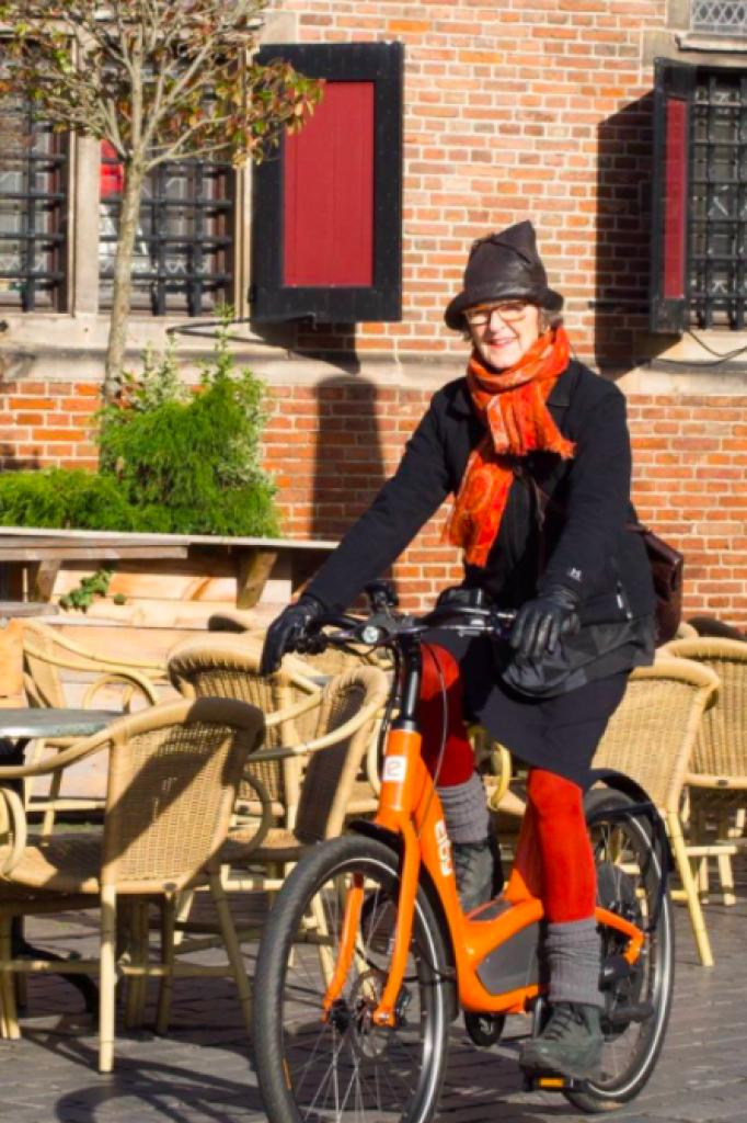 Metselaar houdt zelf ook van fietsen