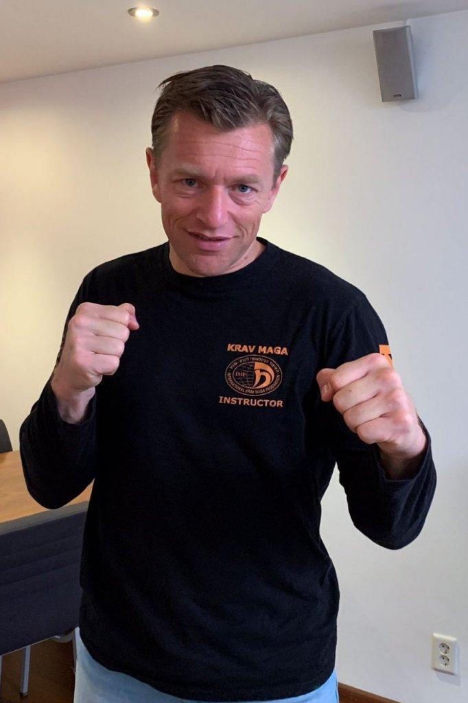 Zelfverdedigingsinstructeur Martijn Bos